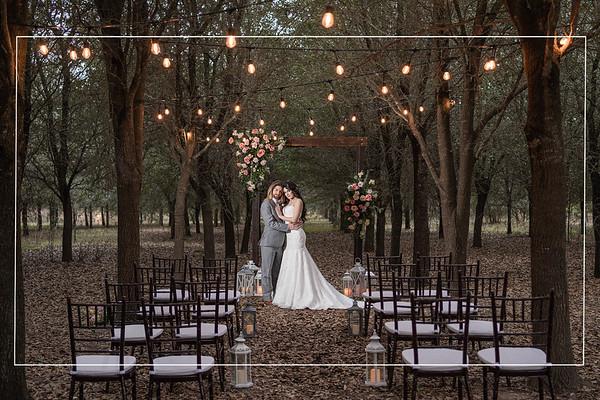 Modern Boho Wedding Inspiration at Thousand Oaks in Cypress Texas