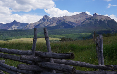 July 2012 Ridgeway to Telluride, Colorado