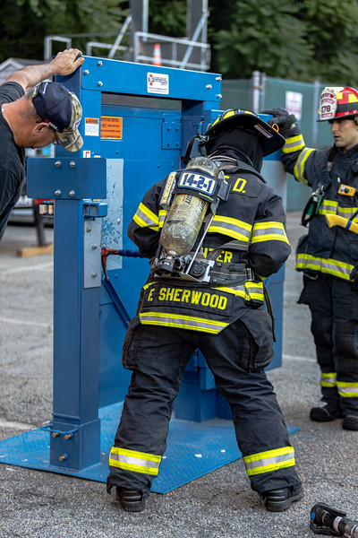 6-17-2021 Live Burn Drill