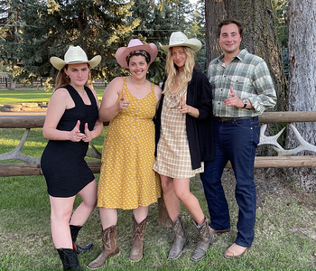 Family Pictures at Barnyard Dance