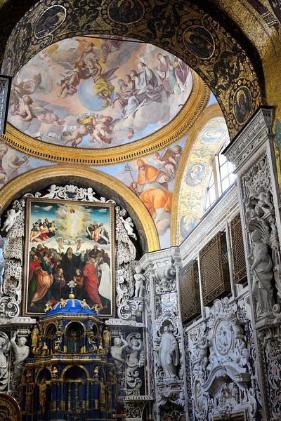 St. Maria Dell`Ammiraglio (Front Altar)--Palermo, Sicily