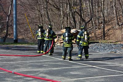 4-5-09 Live Burn Drill