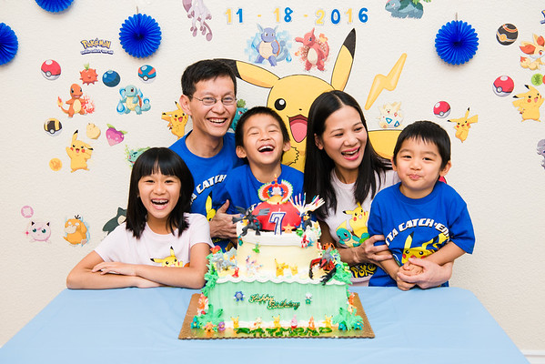 2016_11_18 Raymond's 7th Birthday