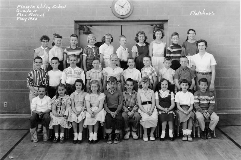 Wiley 5th Grade Class Metzel