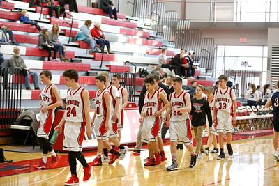 Boys Freshman Basketball - 2/8/2018 Big Rapids