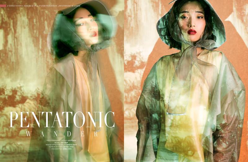 Pentatonic Wonder Published by Pump Magazine Photographer/Retoucher: Kato Chen Model: Jiah Shen Makeup artist/ Hair Stylist: Mineva Hsieh Fashion Designer: Jeffrey Zhou Videographer: Sumei Chen   http://www.square-o-tree.com/