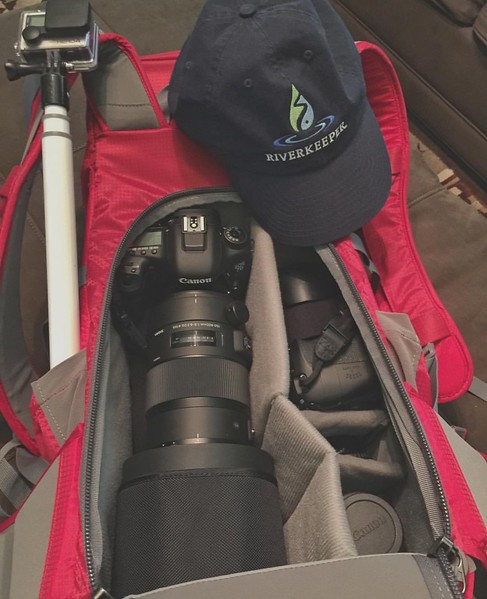 Packing for the Riverkeeper Patrol Boat