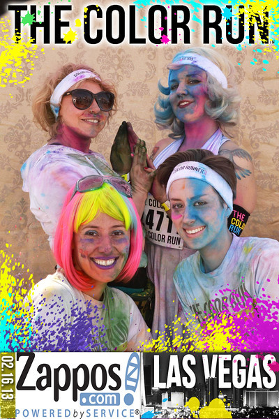 The Color Run  Las Vegas!