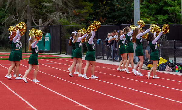 Set one: VIHS Fall Cheer Band and Crowd at Football v Coupeville 09/13/2019