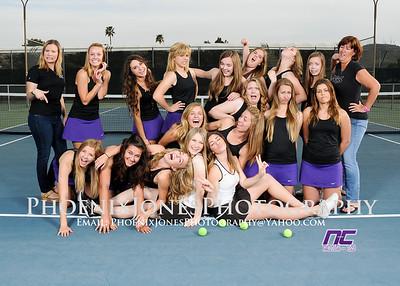 2012-13 NCS Tennis Team