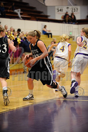 Marshfield vs Thurston - Girls Basketball - Feb 9, 2010