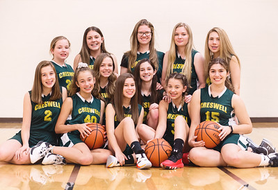Creswell Tigers Girls 7-8th Grade