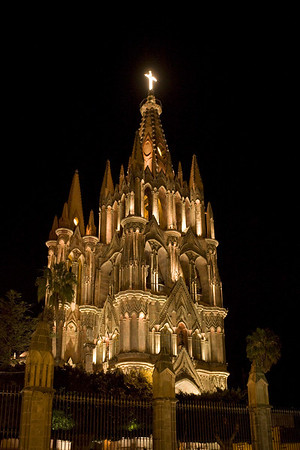 San Miguel de Allende-La Parroquia (The Parish Church)