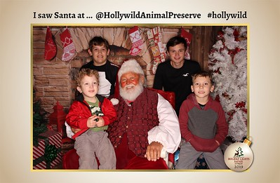 Hollywild Santa Photos - 120719