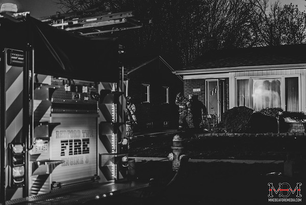 Redford MI, House Fire 4-18-2020