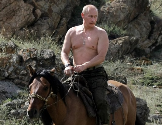 ". <p><b> Russian President Vladimir Putin wrote an eye-opening op-ed piece for the New York Times in which he opined that this is not exceptional � </b> <p> A. America  <p> B. Capitalism  <p> C. The recent growth in his man boobs  <p><b><a href=\'http://www.washingtonpost.com/blogs/post-politics/wp/2013/09/12/putin-america-is-not-exceptional/\' target=""_blank\"">HUH?</a></b> <p>    (Alexsey Druginyn/AFP/Getty Images)"