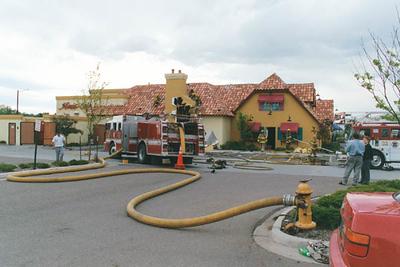Mimi's Cafe Fire