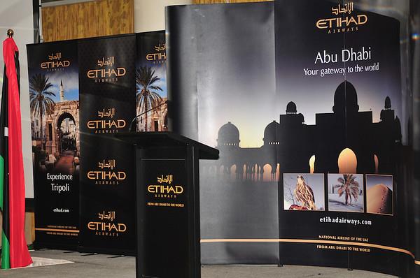 Etihad Airways Inaugural Flight Reception - Tripoli, Libya