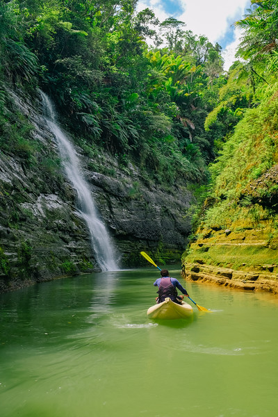 Upper Navua River Gorge Rafting Trip