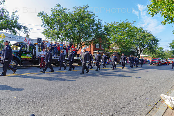 Dutchess County Volunteer Firemen's Association  72nd Annual Convention Parade celebrating the 100th Anniversaries of the Red Hook and Tivoli Fire Departments. - 8/17/2019