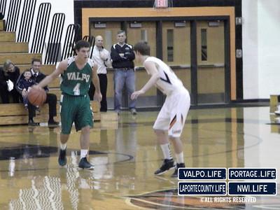 VHS vs. LPHS Boys Varsity Basketball 1-18-13