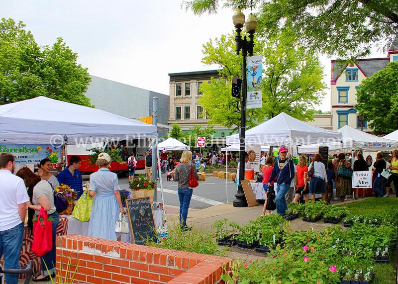Easton Farmers Market, Easton, PA  5/18/2013
