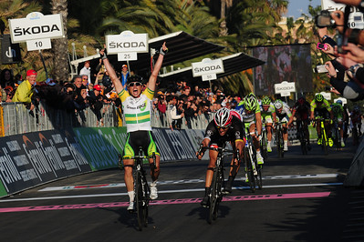 Milan-San Remo finish