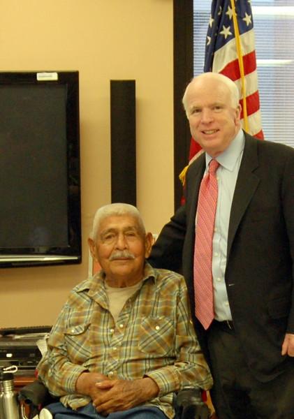 Mr. Anderson & Senator McCain