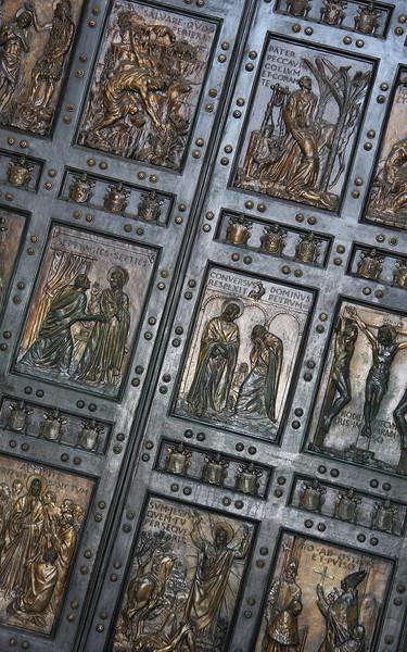 Bernini's Bronze Doors, St. Peter's Basilica, Vatican City