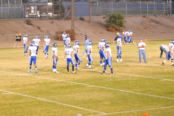Bishop vs Kern Valley Oct 27, 2012