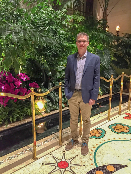 At the Wynn prior to Tony Bennett