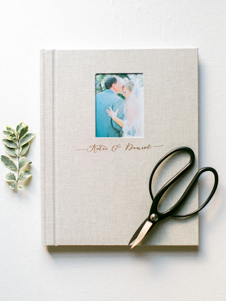 Natural Linen Heirloom Book