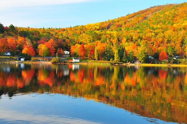 Mt. Bohemia Fall Color 2008