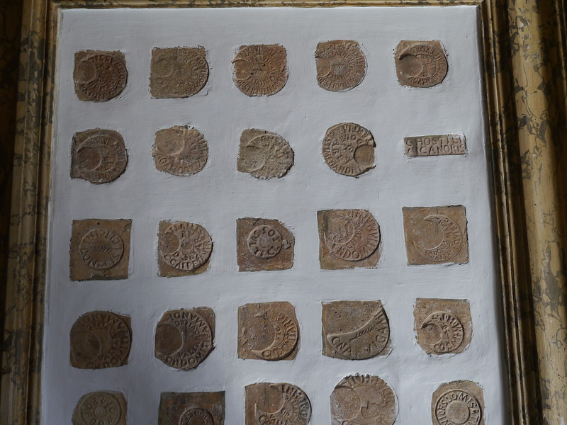 Brickmaker stamps. relatively dull items, but very useful for us.
