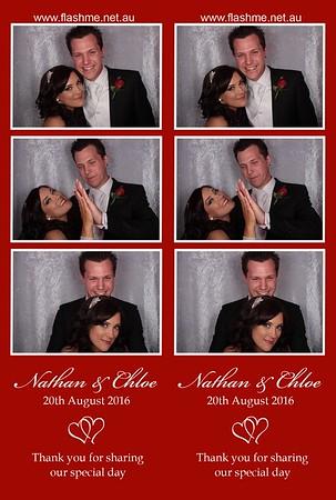 Nathan & Chloe's Wedding - 20 August 2016