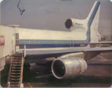 My First Flight- October 1978 with Mary Hayes-Eastern 727-200 CLT-ATL(and Mary at LAX+HNL)
