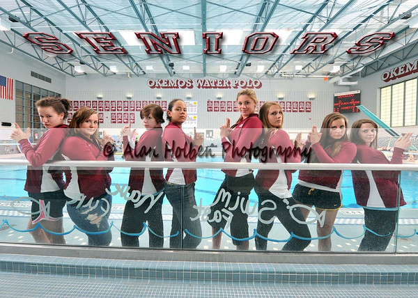 Girls Varsity - Athens at Okemos - April 20