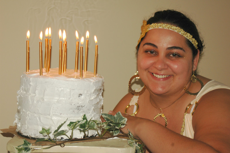 Lisa's 30th B.Day Party - Grecian Theme - August 25, 2007