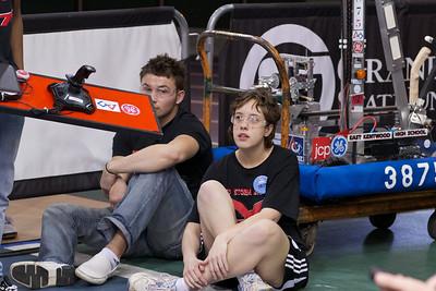 2011, March 19 Robotics Team at GVSU