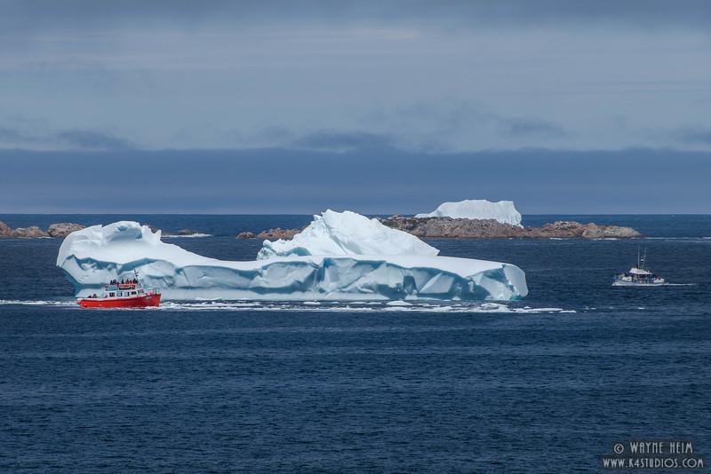 Boat Iceberg     Photography by Wayne Heim