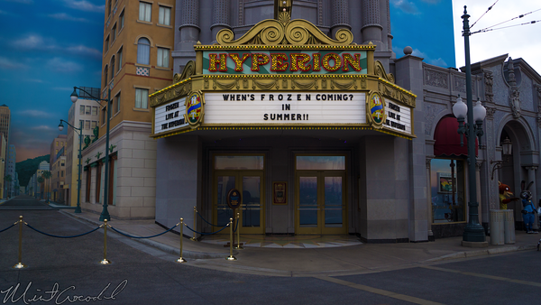 Disneyland Resort, Disney California Adventure, Hollywood Land, Hyperion, Theater, Frozen
