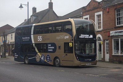 15346, YP67XBV, Stagecoach West, Royal Wootton Bassett.