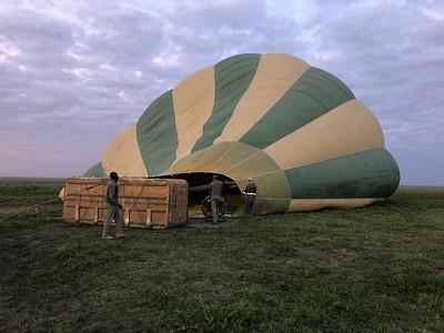 Jan 14 Kusini Serengeti Balloon Safari