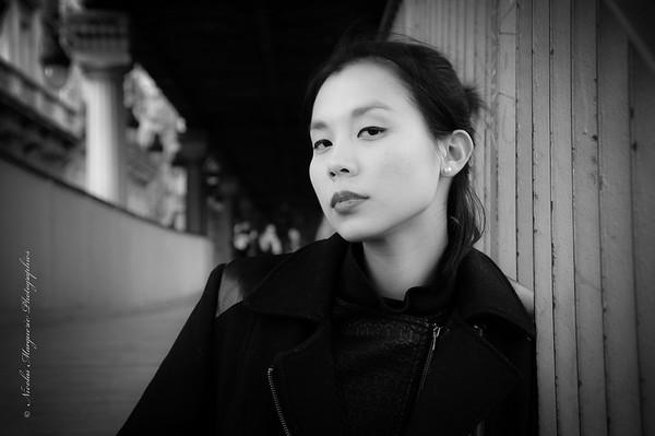 Elena Fung, Rencontre à Bir Hakeim