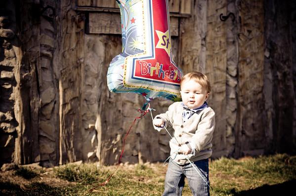 Maher - 1st birthday