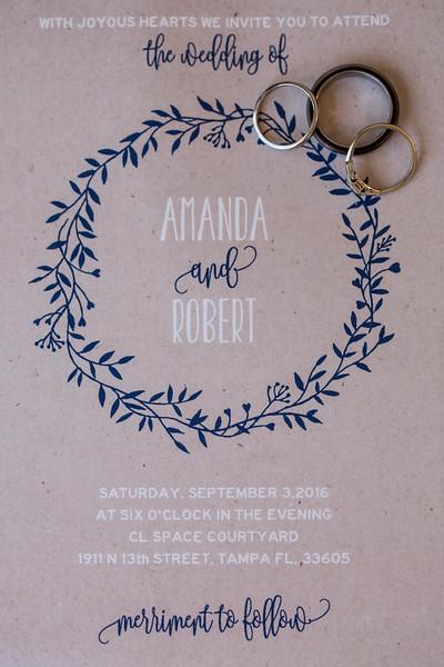 Amanda + Robby 9/3/16
