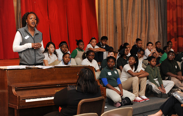 Junior Achievement and Travelers at Martin Luther King School