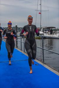 Cardiff Triathlon - Wave 6 Orange Hats