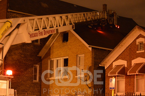 Apartment Fire (10/24/14)