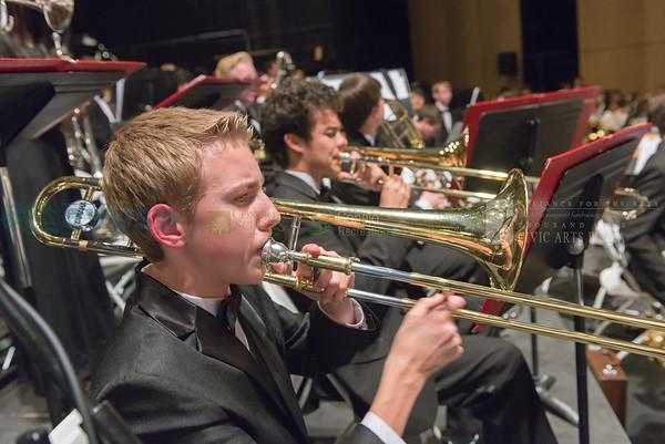 Band - Newbury Park High School Cluster - May 23, 2016